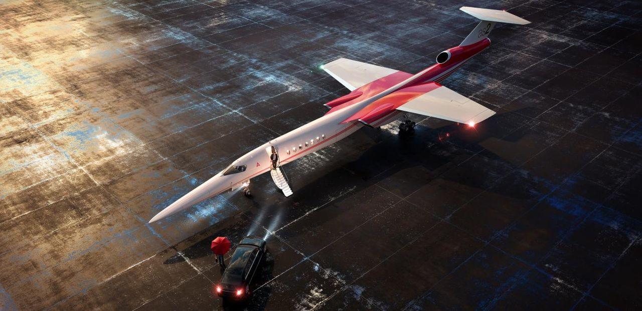 Aerion planerar att börja sälja sitt överljudsplan AS2 2026