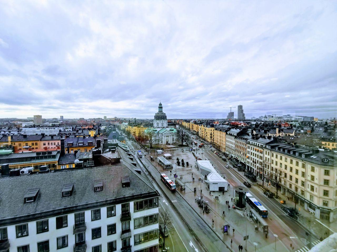 Polisen kör ny drönarbevakning över Stockholm