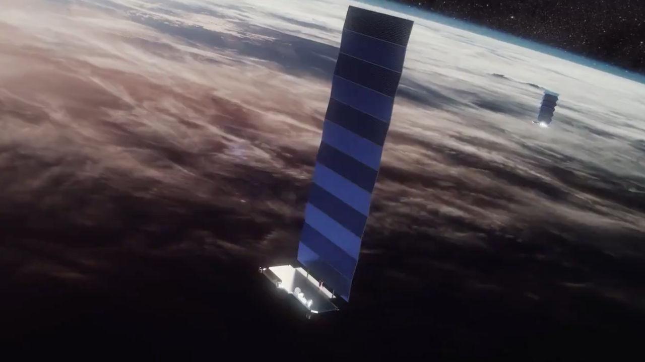 StarLink börjar förse sina satelliter med laseruppkoppling