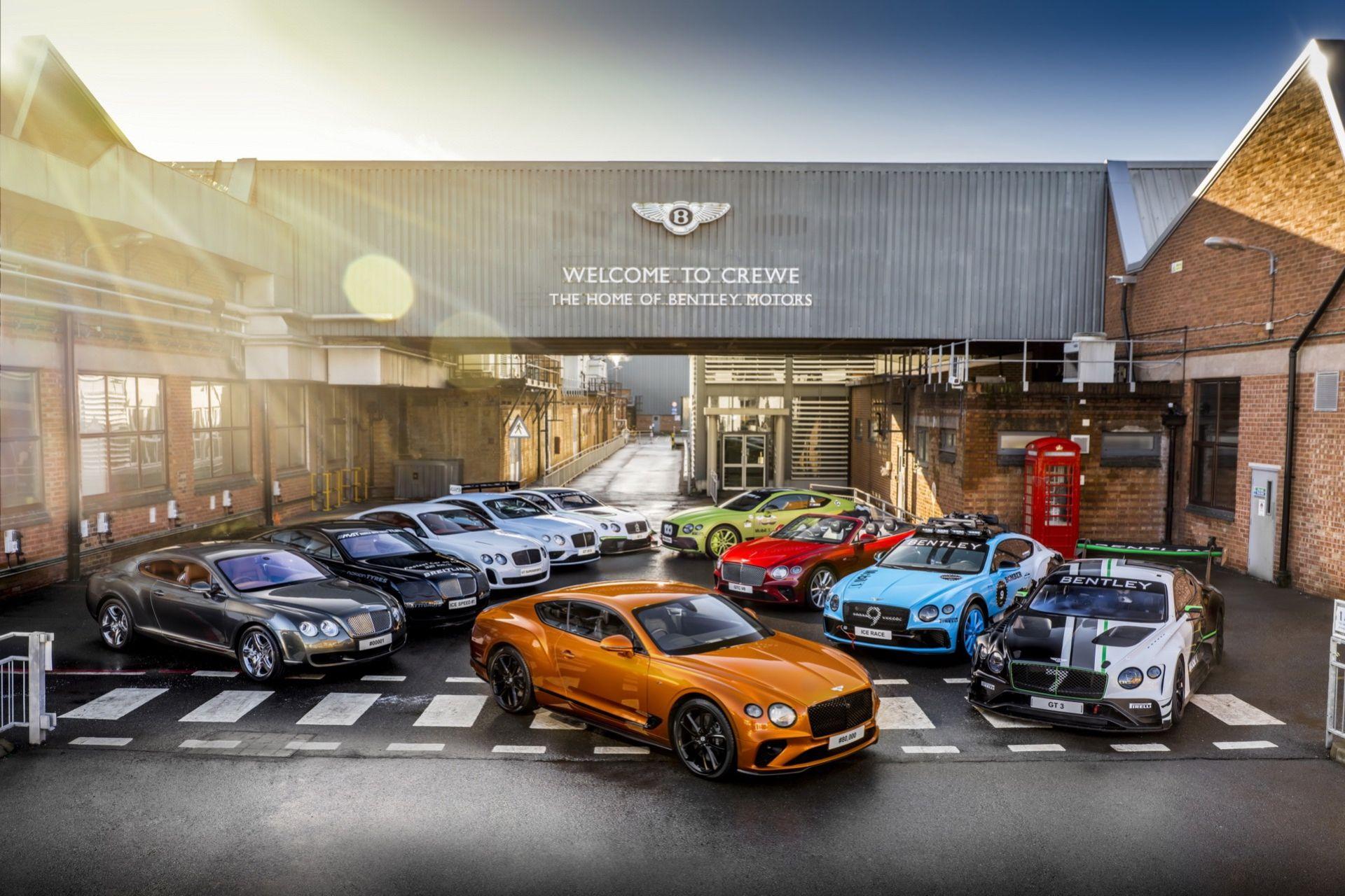 Bentley har nu byggt 80.000 stycken Continental GT