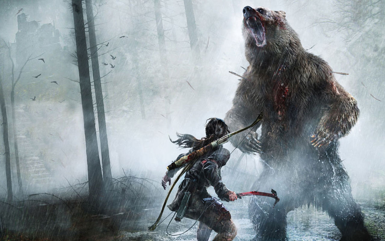 Animeserie med Tomb Raider kommer till Netflix