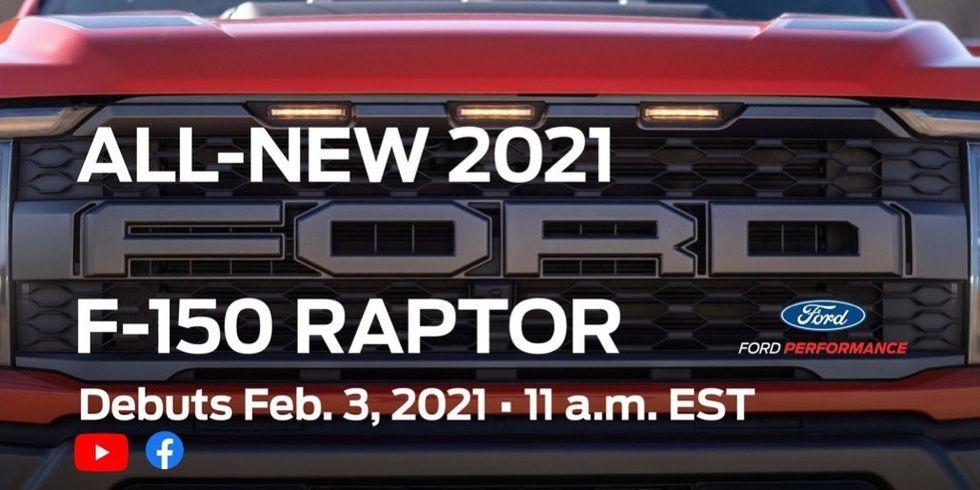 Ford smygvisar nya F-150 Raptor