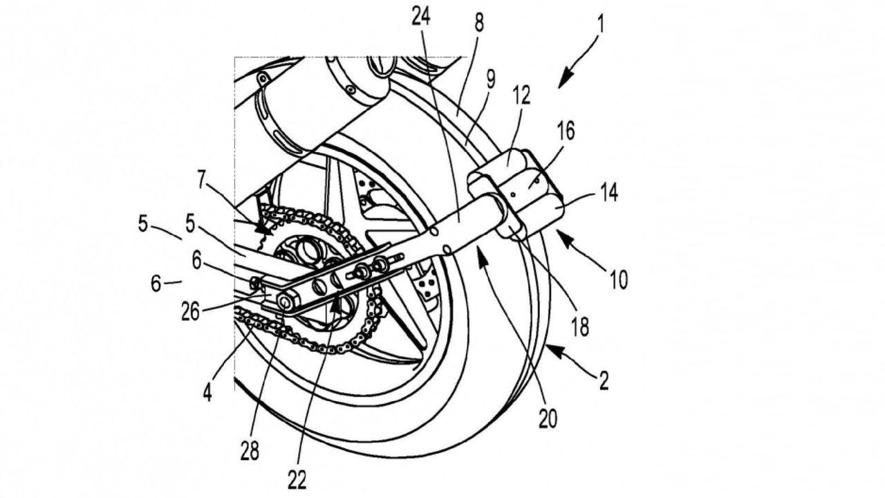 Michelin tar patent på ett backsystem för motorcykel