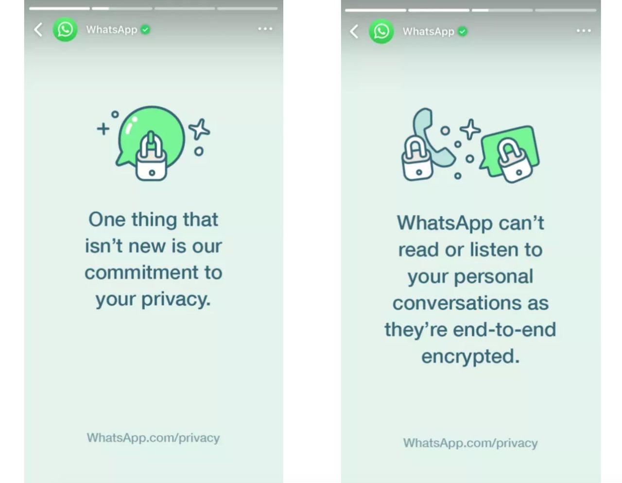 WhatsApp vädjar till sina användare