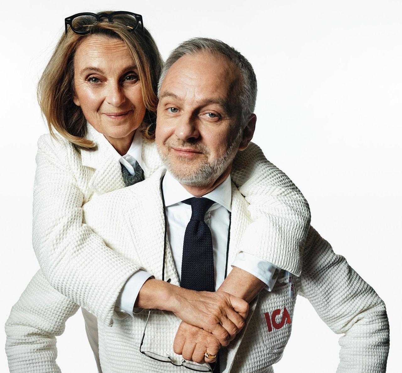 Björn Kjellman och Suzanne Reuter är ICA-Stig och ICA-Stina