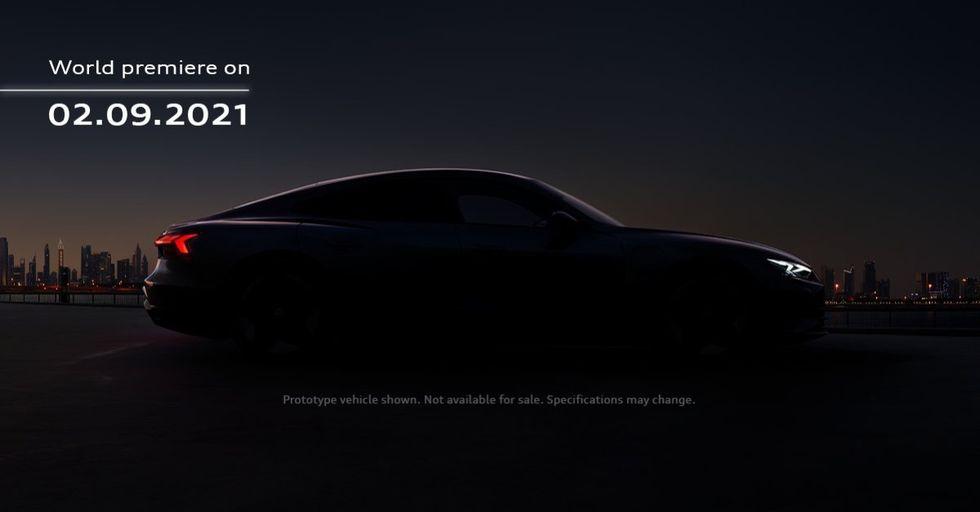 Audi e-Tron GT har premiär den 9 februari