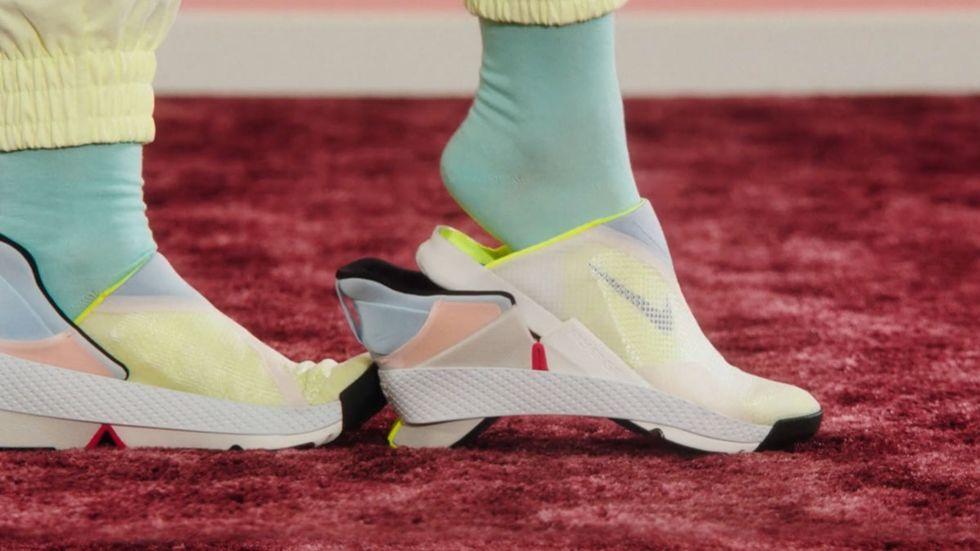 Slipp använda händerna med Nikes nya sko