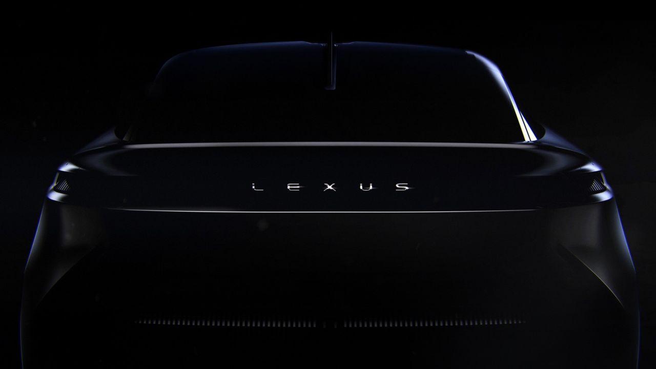Smygtitt på Lexus kommande elbil