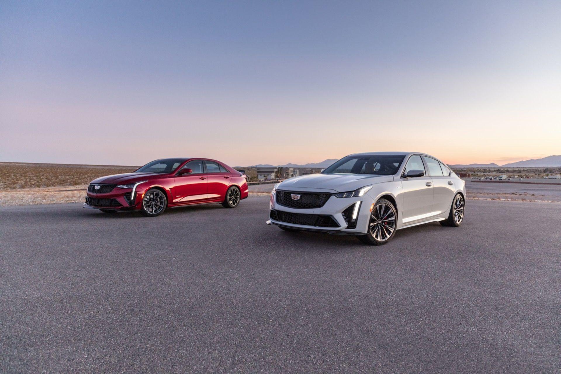 Cadillac presenterar CT5-V och CT4-V Blackwing