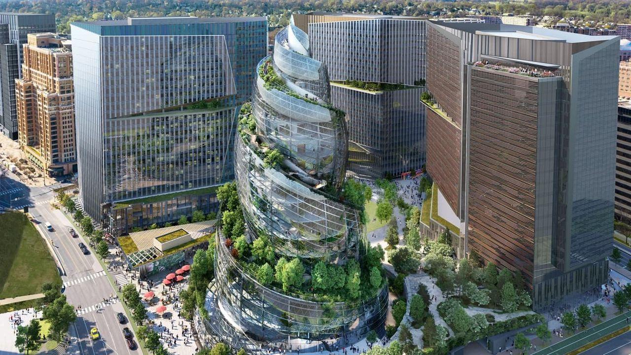 Så här kanske Amazons huvudkontor HQ2 kommer att se ut