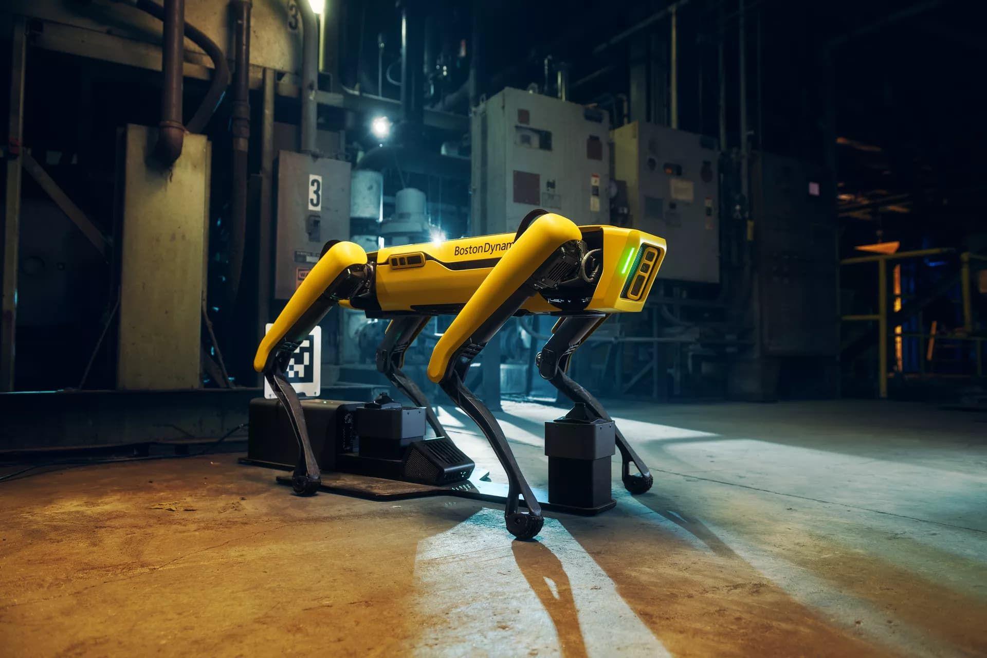 Boston Dynamics presenterar Spot Enterprise