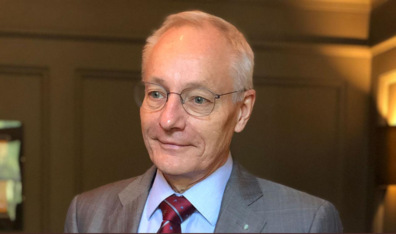 Sven Mattisson får Adelsköldska medaljen