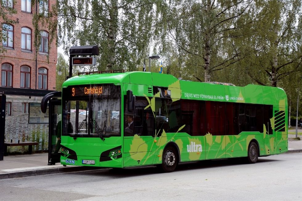 Umeå kommun säger upp elbuss-avtal