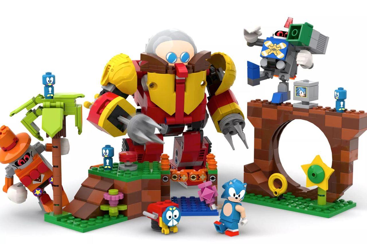 Lego gör byggsats av Sonic Mania