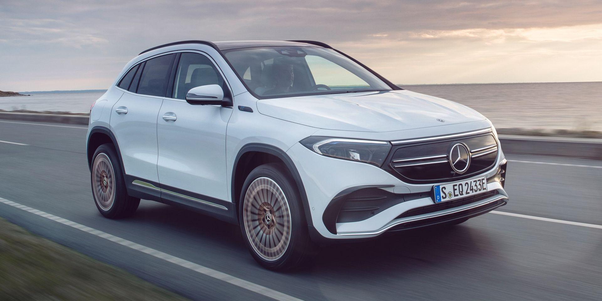 Mercedes eldrivna EQA kostar från 529.900 kronor
