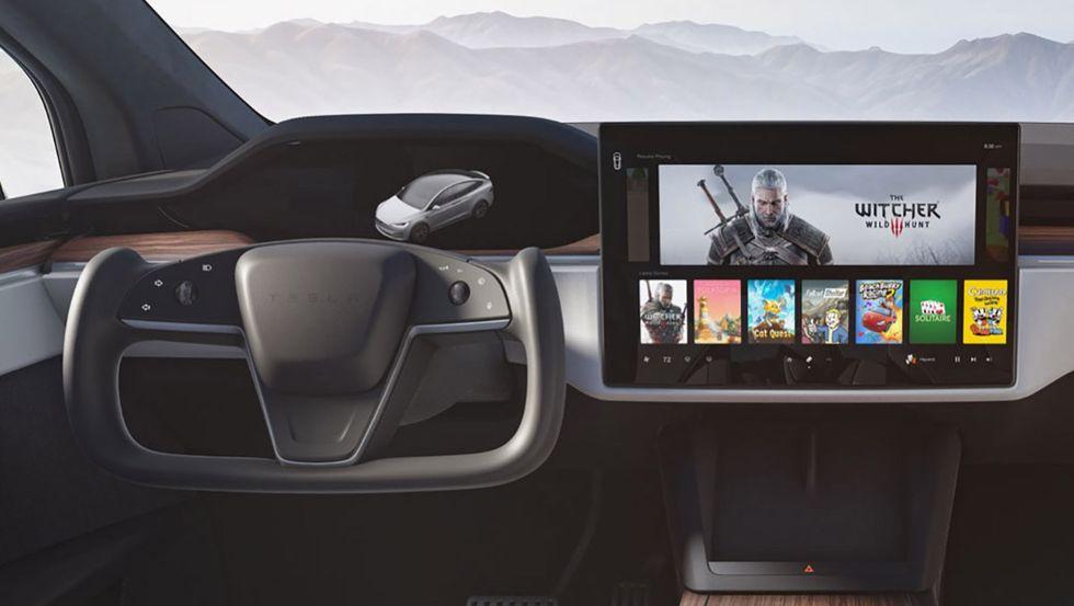 Teslas nya halva ratt är laglig i Sverige
