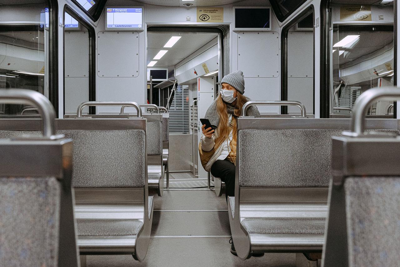 Folk i kollektivtrafik verkar ha en dödsönskan