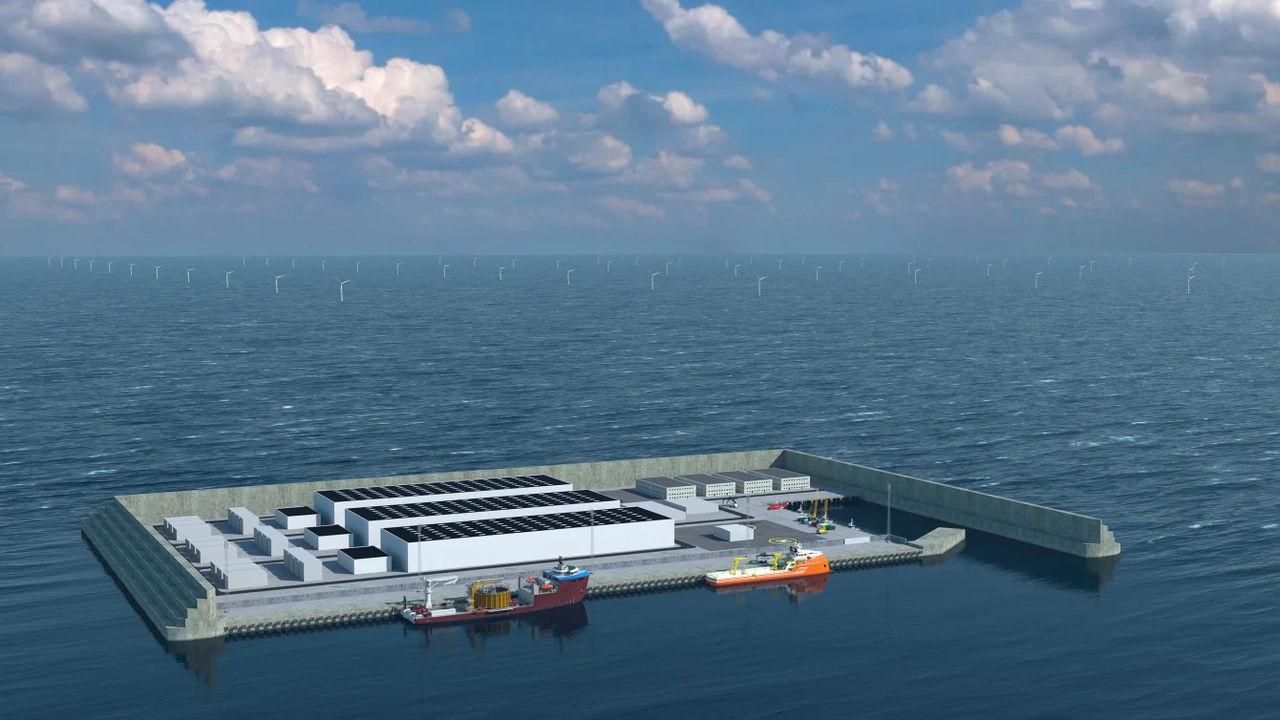 Danmark ska bygga vindkraftsö