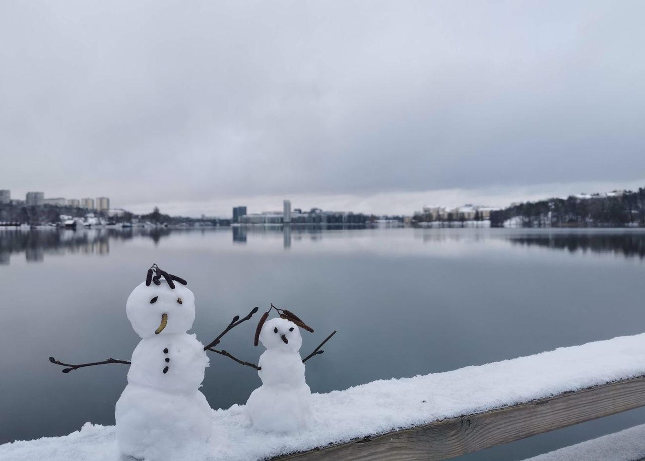 Nu är det vinter i hela Sverige