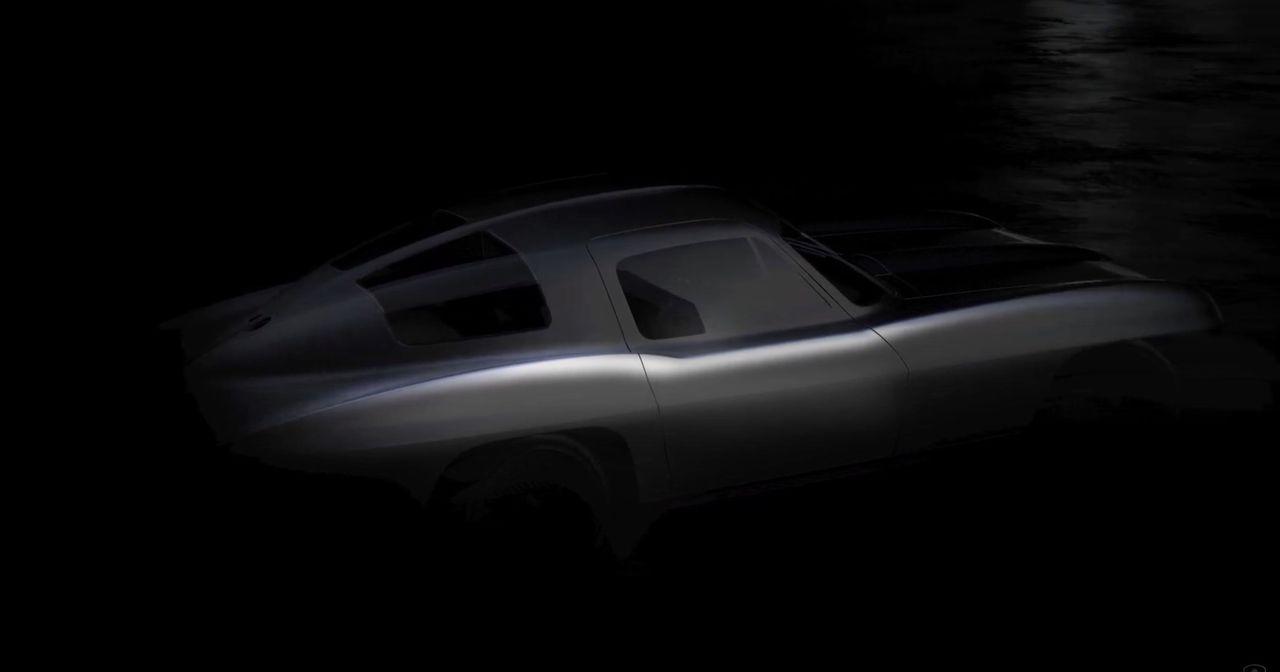 Eldriven Chevrolet Corvette C2 med 2000 hästar på gång