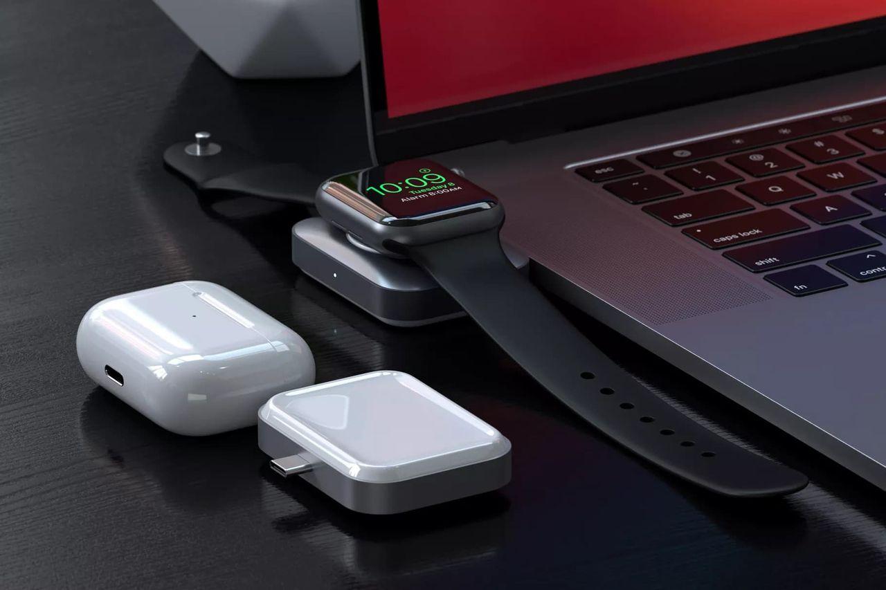 Ny laddare från Satechi kan ladda Apple Watch och AirPods