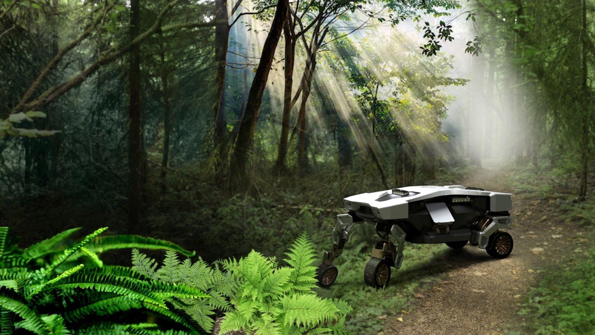Tiger - fyrbent mobilitetskoncept från Hyundai Motor Group