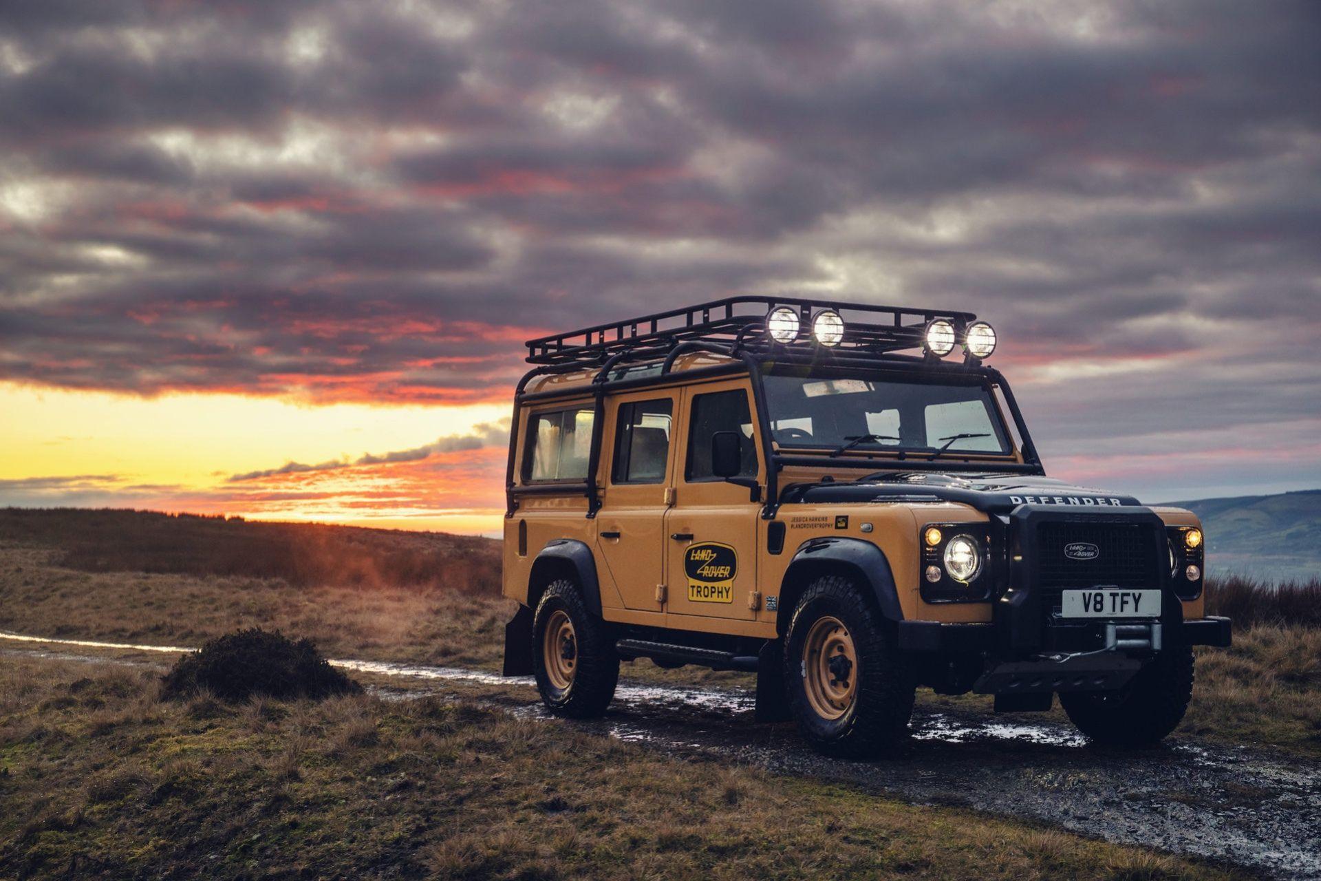 Land Rover Classic presenterar unik Defender