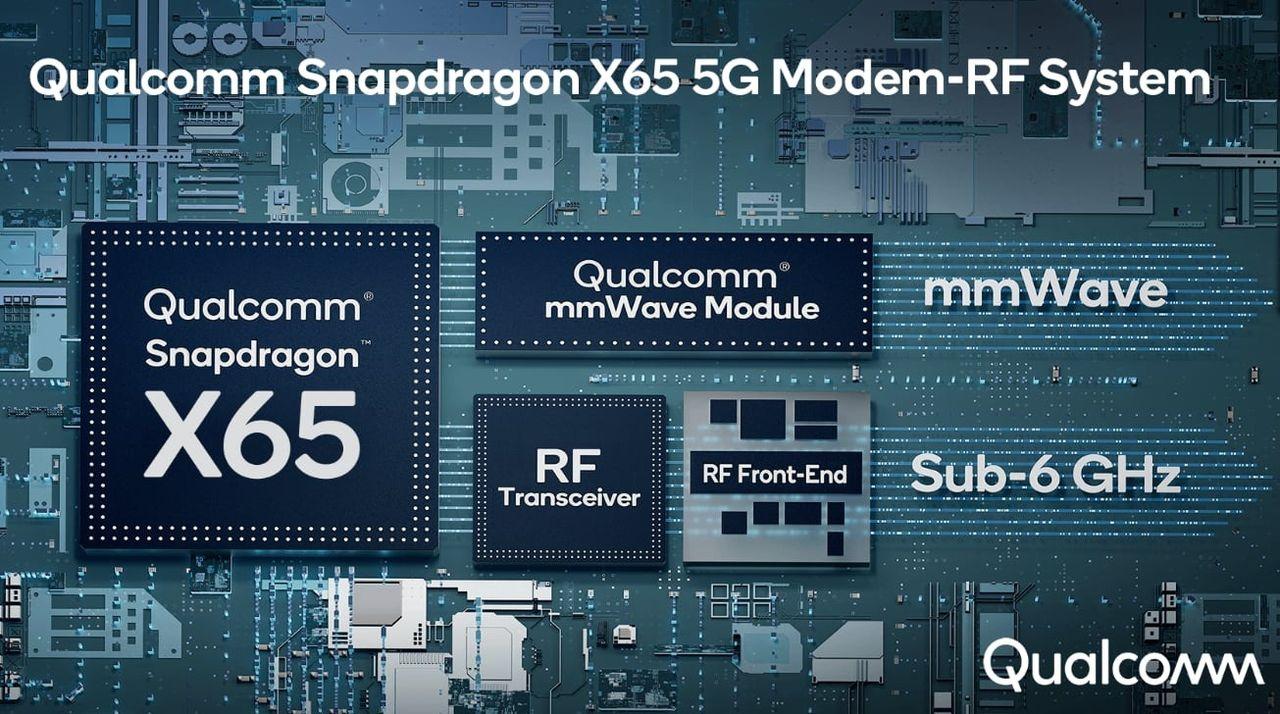 Qualcomm presenterar 5G-modemet Snapdragon X65