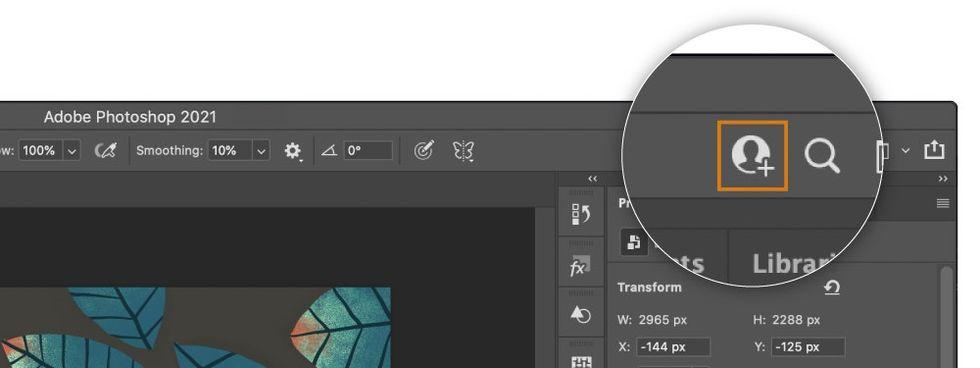 Nu blir det enklare att samarbeta i Photoshop och Illustrator