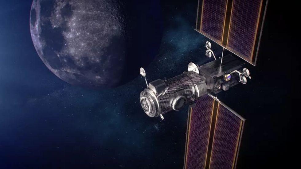 SpaceX ska skicka de första delarna av Gateway till rymden