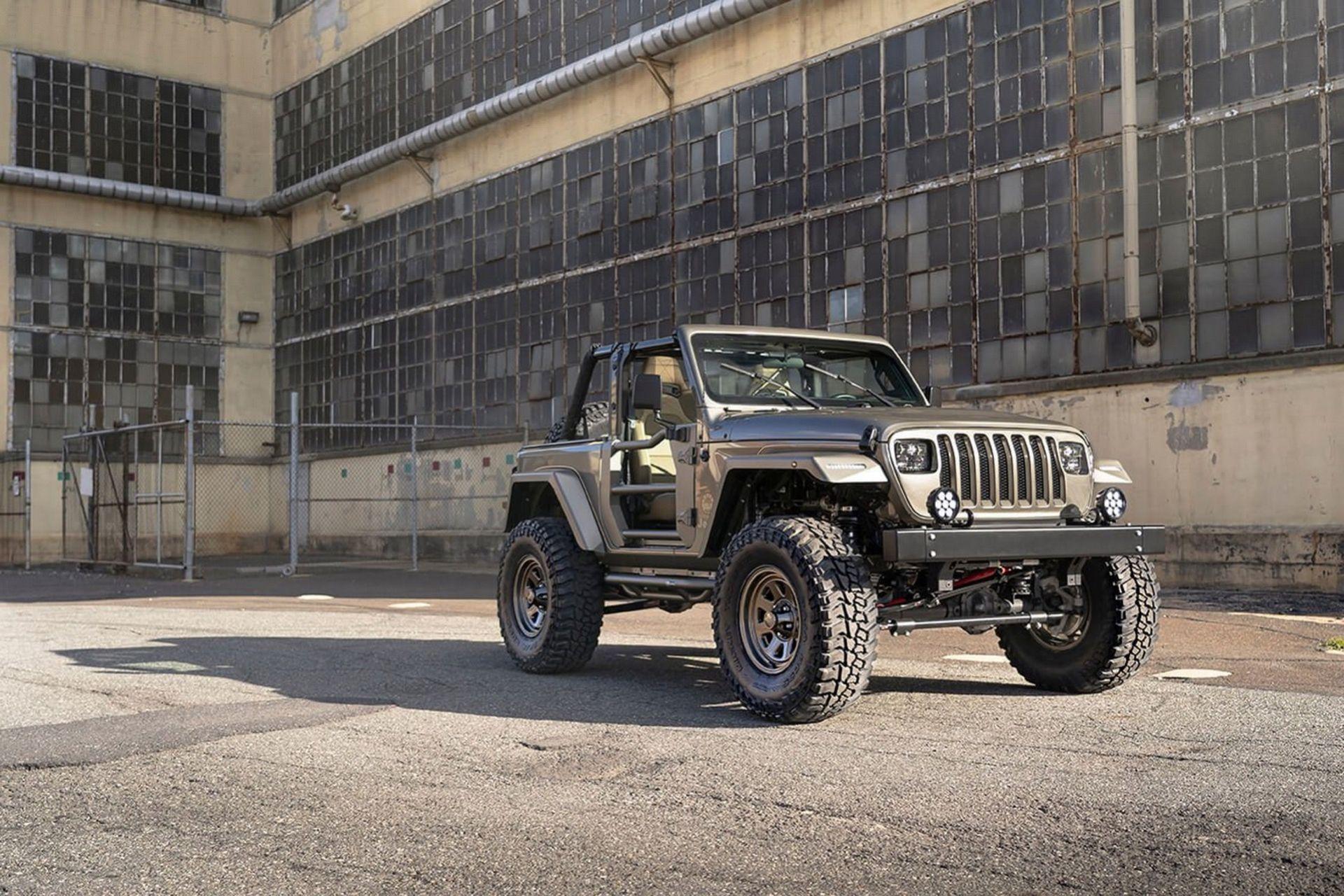 Nya Jeep Wrangler med gammalt utseende