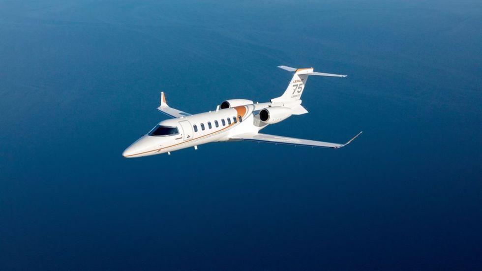 Bombardier lägger ned Learjet