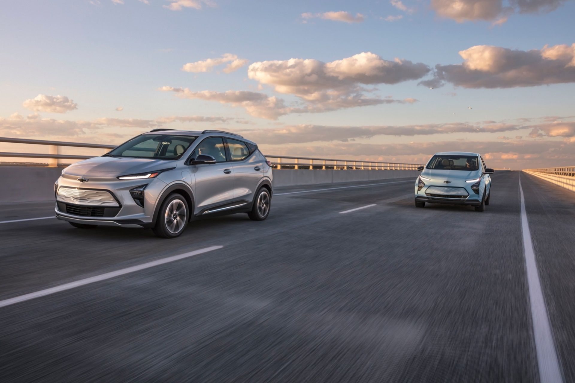 Chevrolet presenterar nya Bolt och Bolt EUV