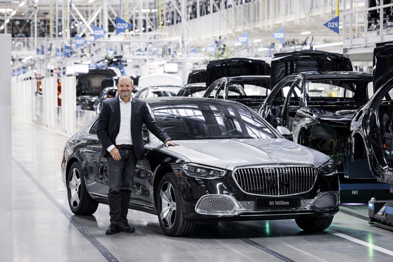 Mercedes har nu byggt 50 miljoner bilar