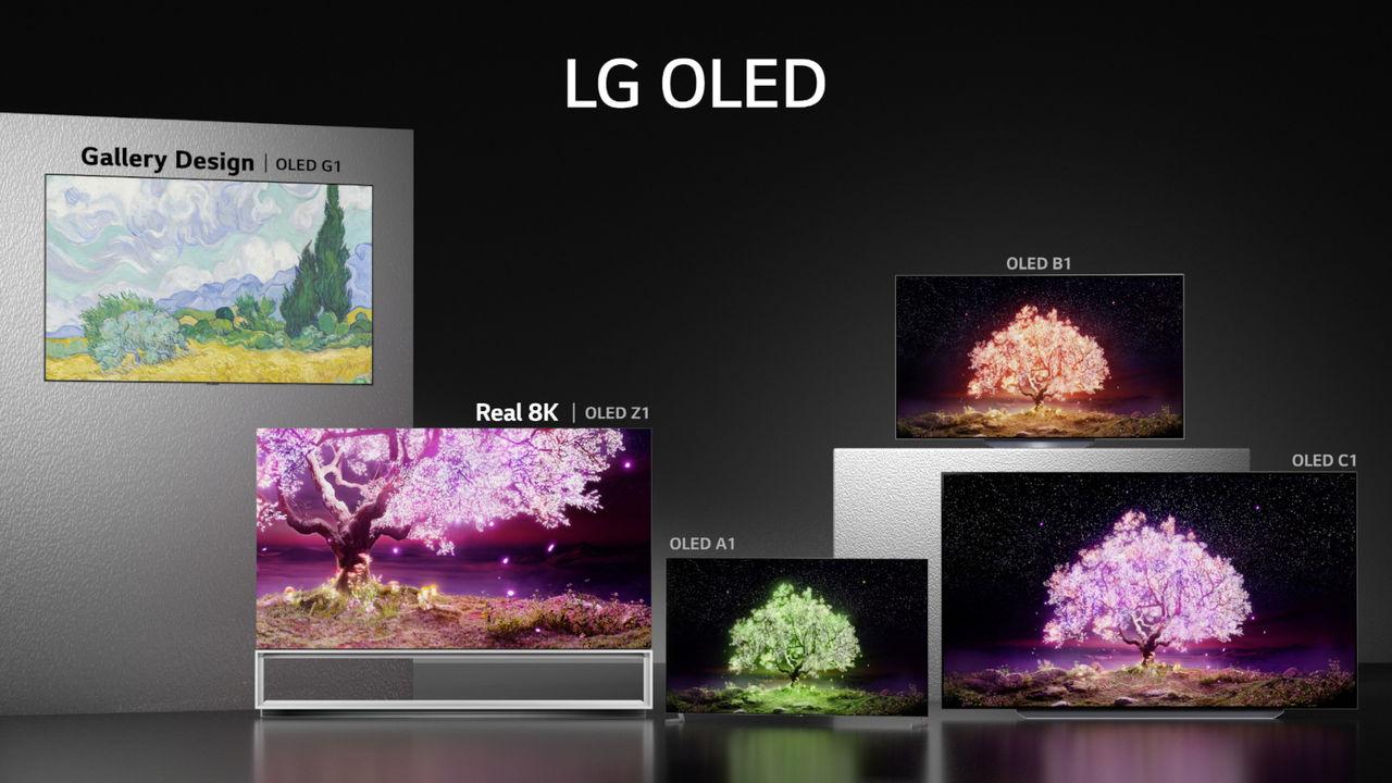 LG börjar rulla ut årets TV-apparater
