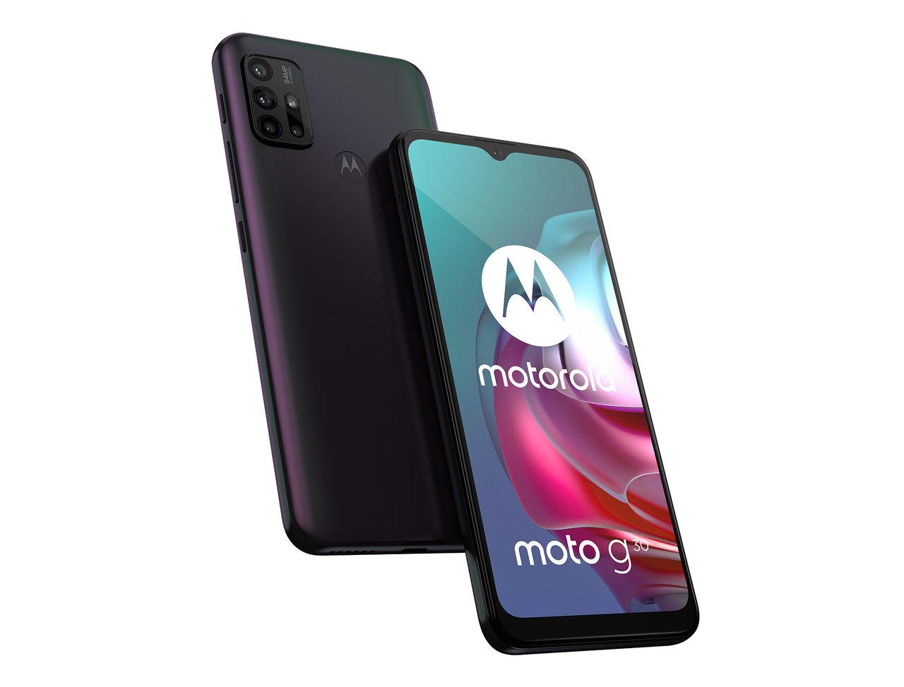 Motorola presenterar Moto G30
