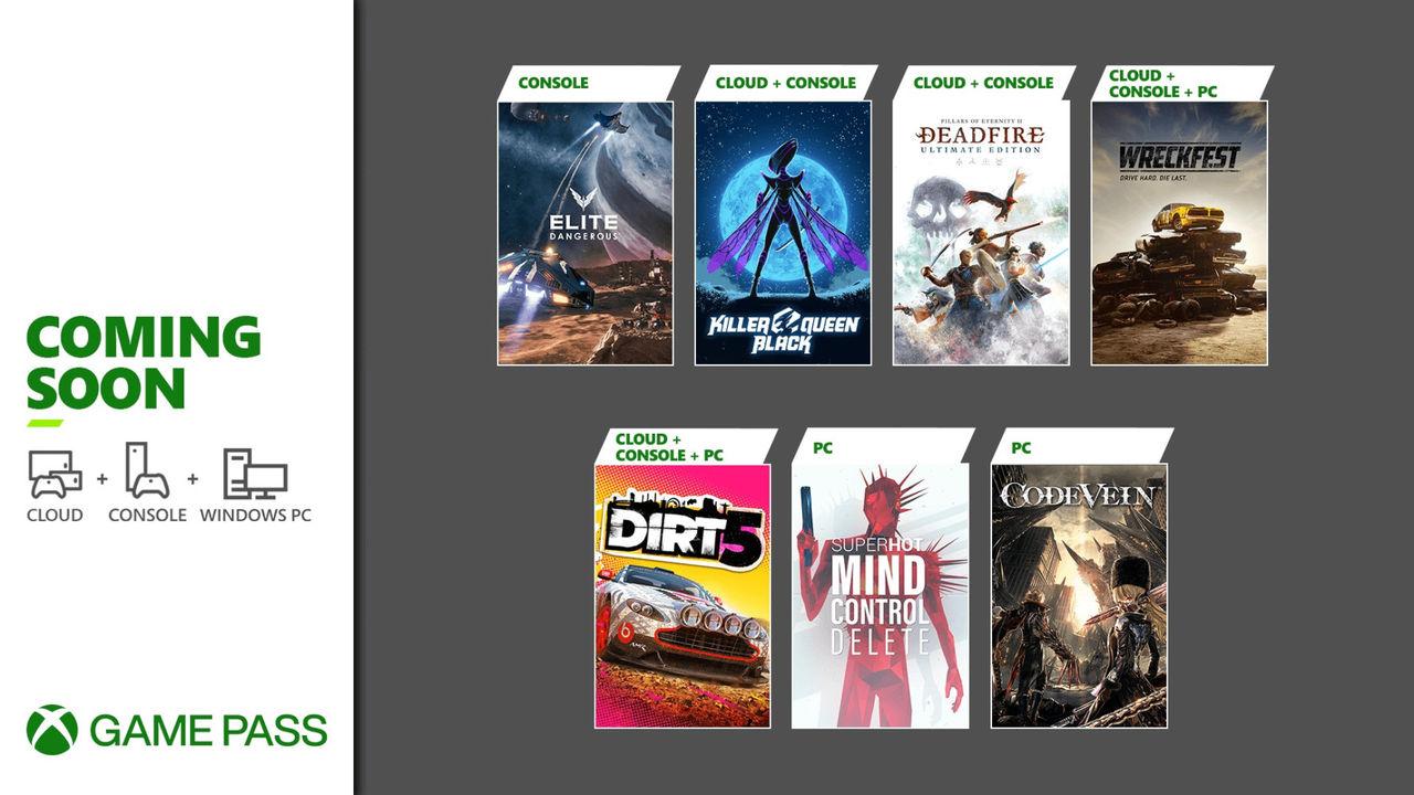 Microsoft listar fler Xbox Game Pass-titlar för februari