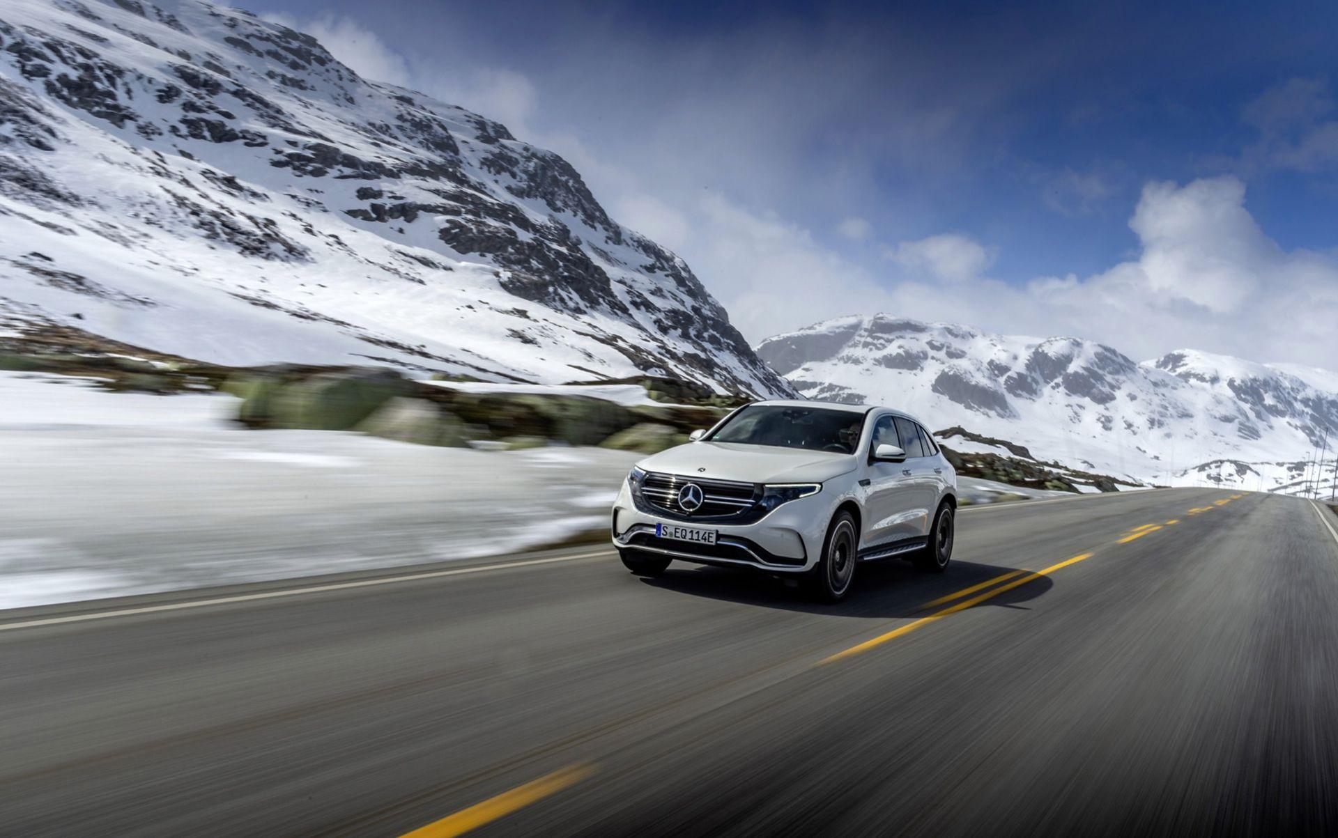 Ny instegsversion och sportversion av Mercedes EQC