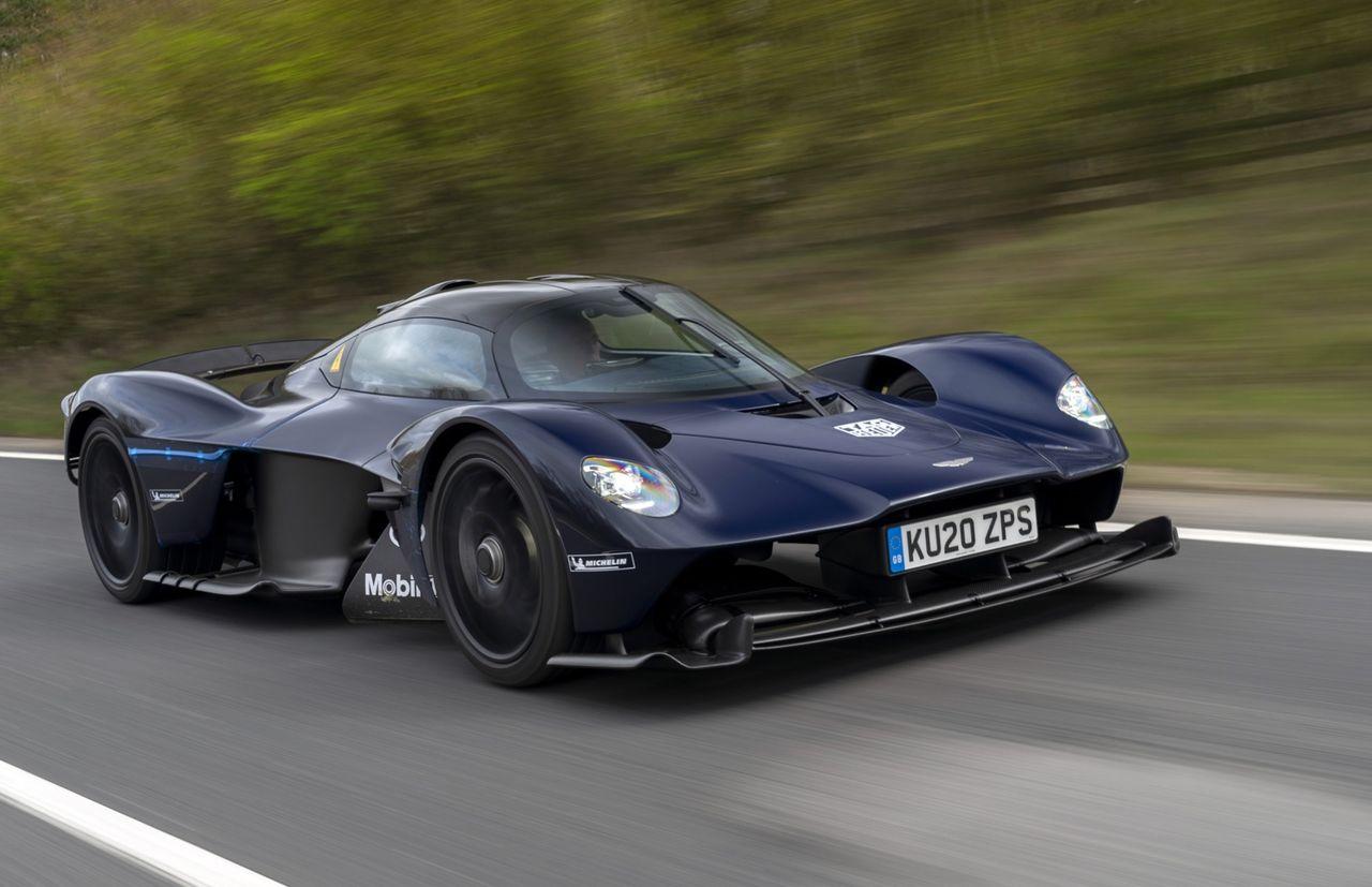 Leveranserna av Aston Martin Valkyrie ska dra igång i år