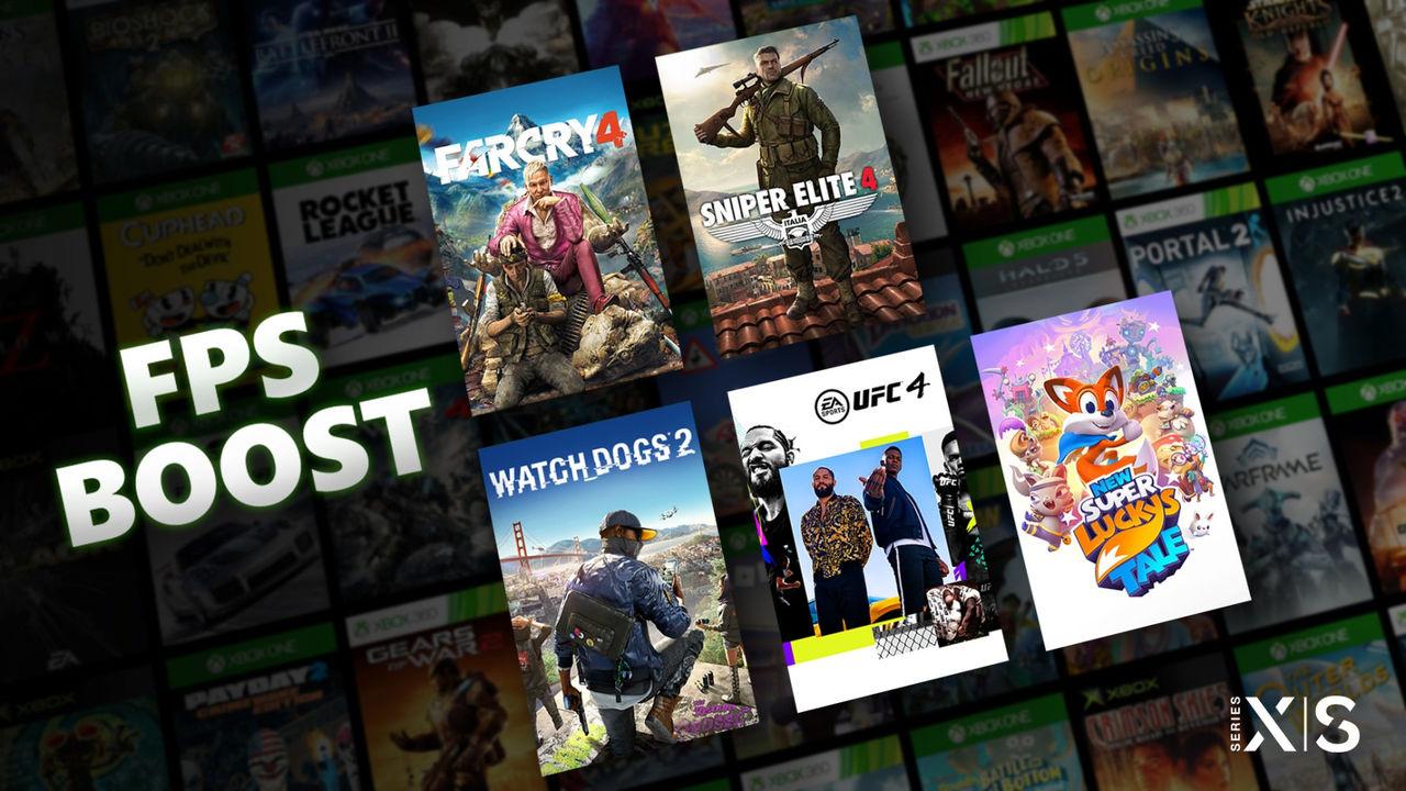 Äldre Xbox-spel börjar rulla bättre på Xbox Series X/S