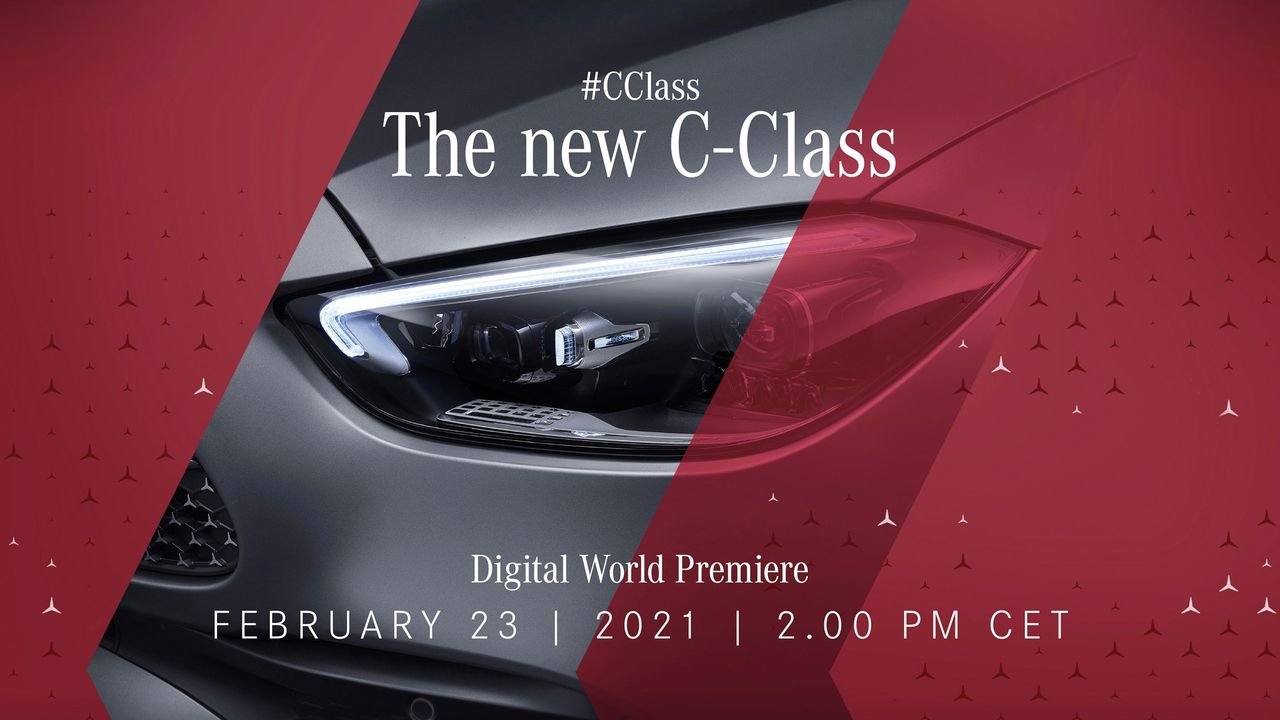 Imorgon har nya Mercedes C-Klass premiär