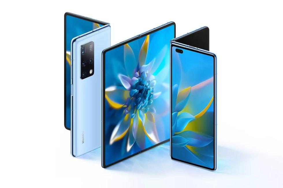 Här är Huawei Mate X2