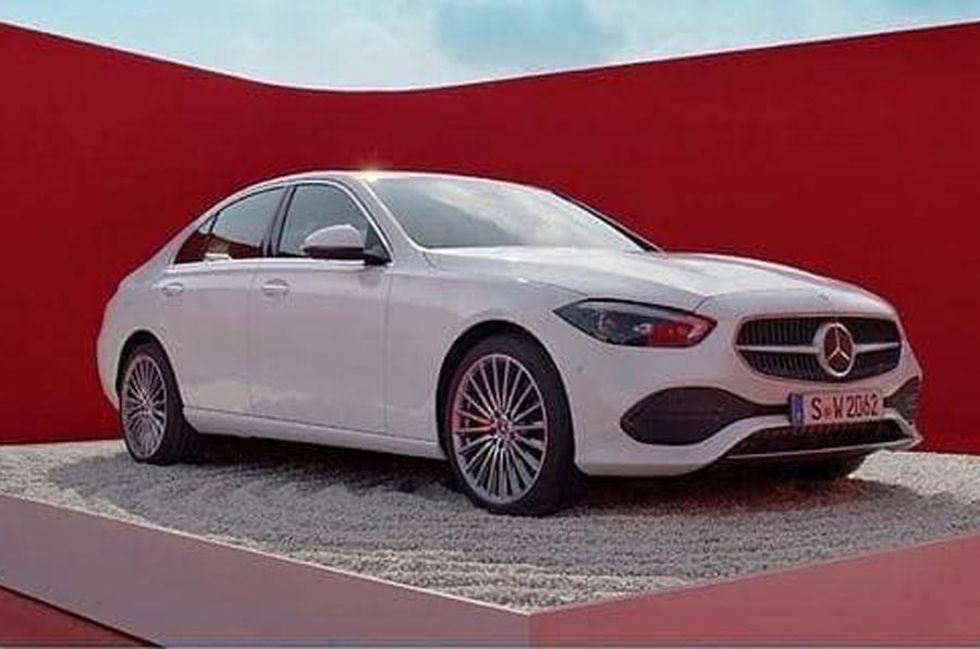 Nya Mercedes C-Klass läcker ut