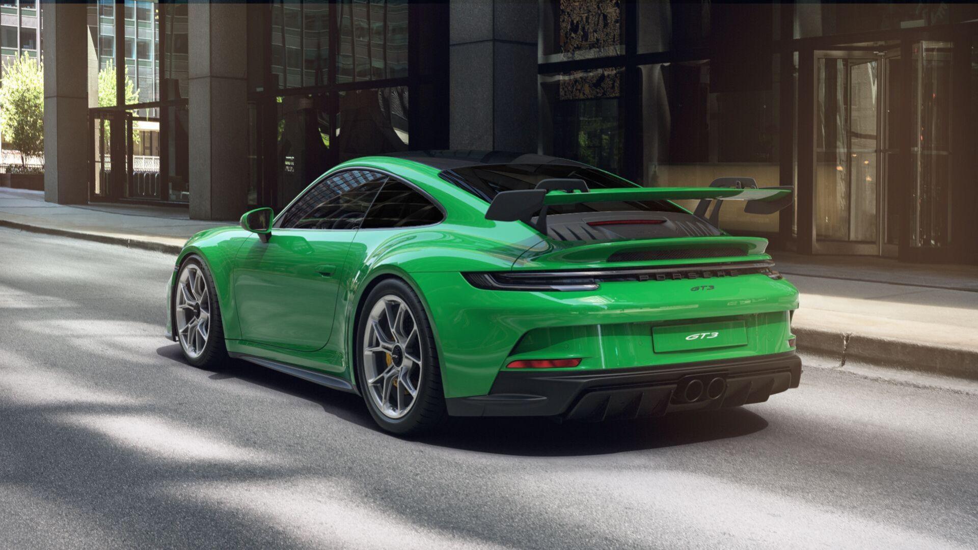 Bygg nya Porsche 911 GT3 på nätet