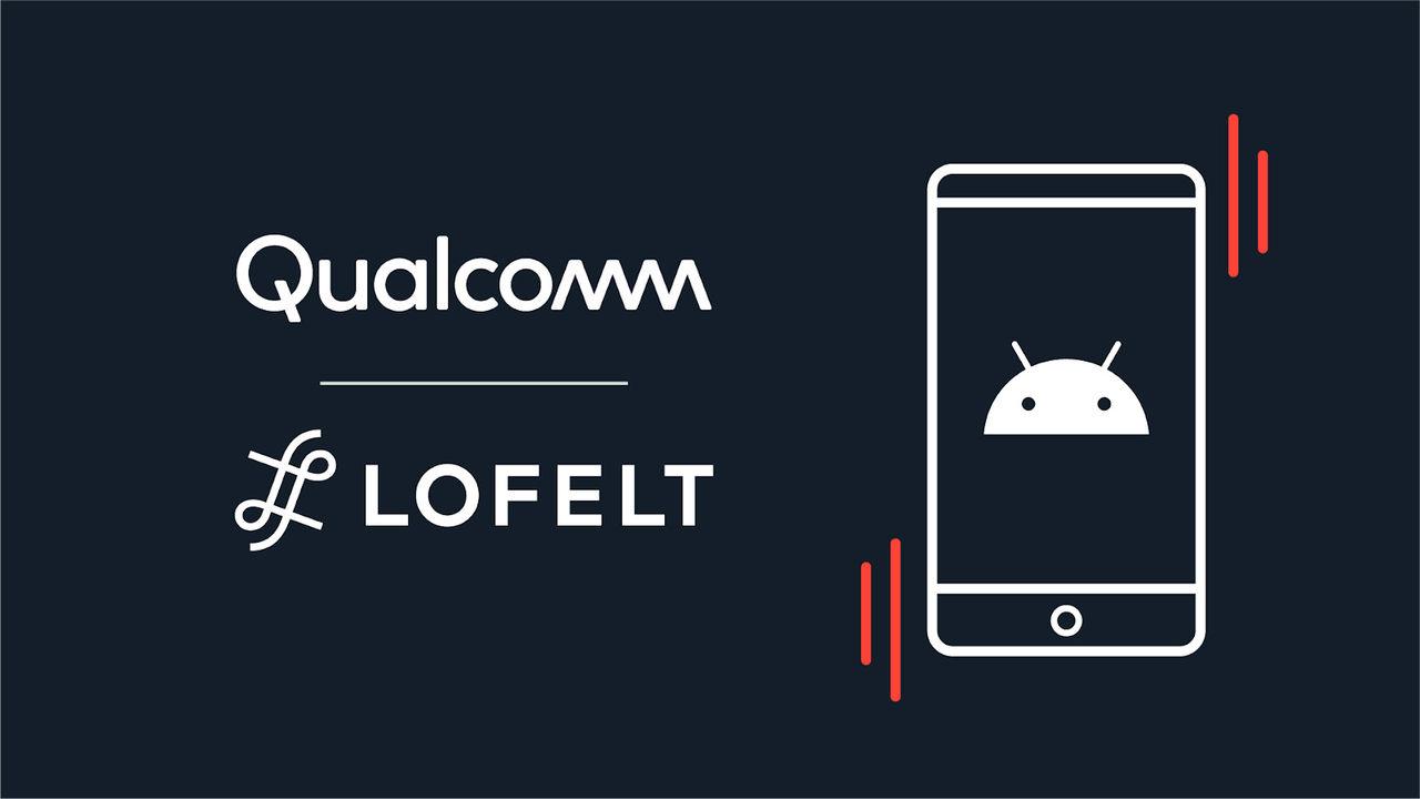 Qualcomm ska förse telefoner med bättre haptisk feedback