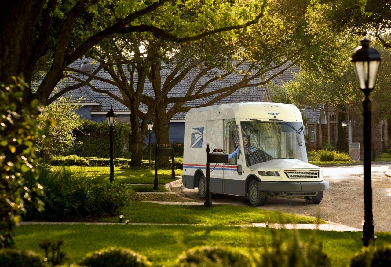 Så här ser USPS nya transportbilar ut