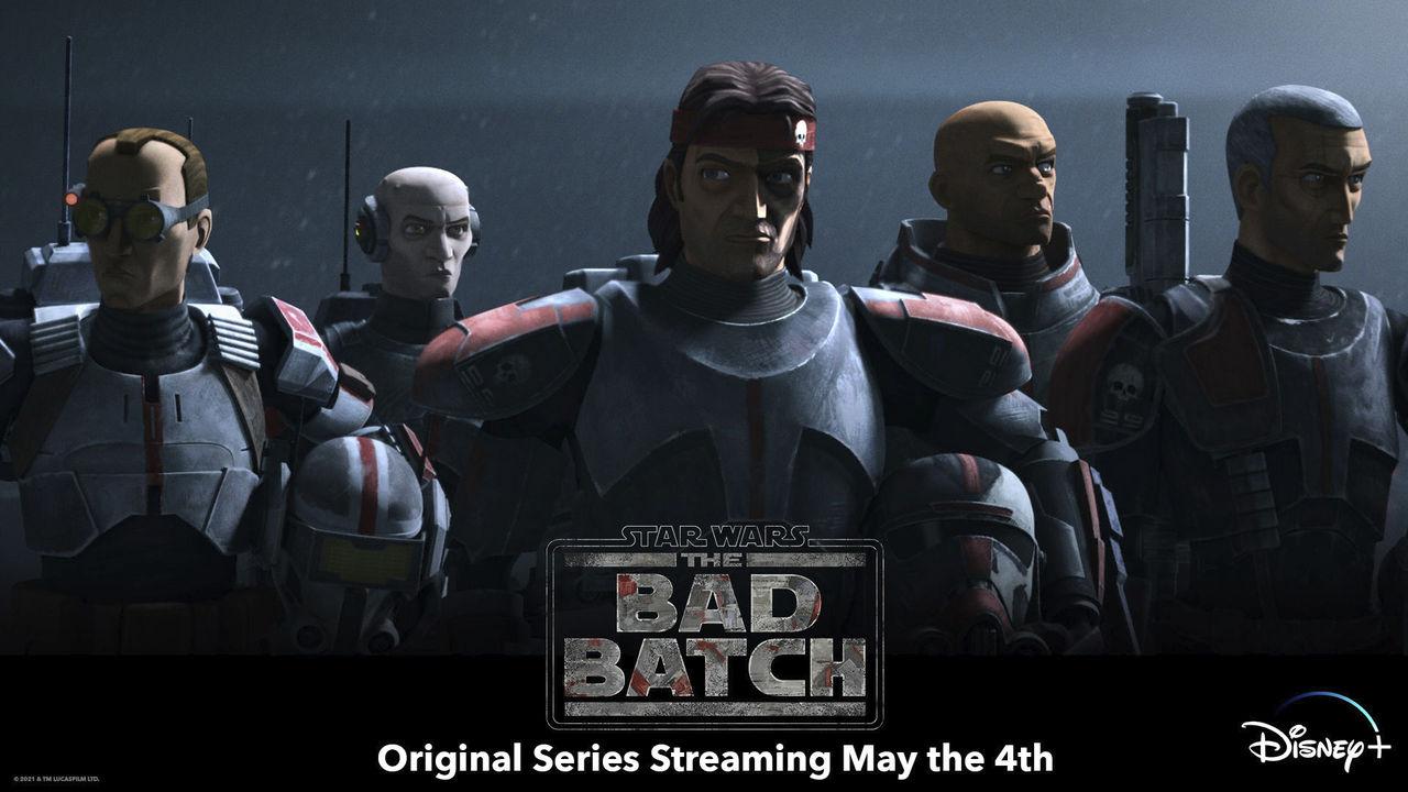 Nya Star Wars-serien The Bad Batch kommer i maj