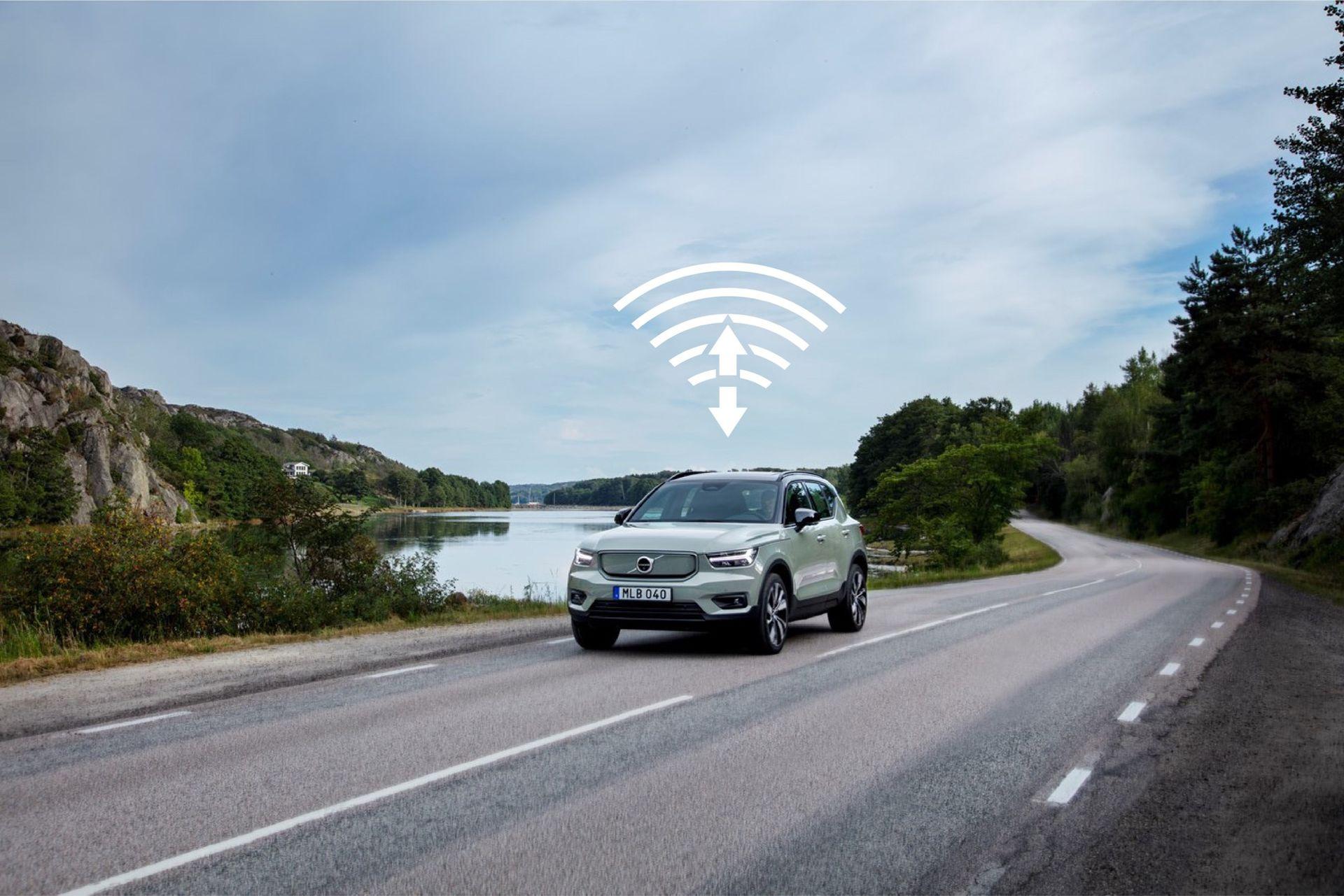 Volvo XC40 Recharge får sin första OTA-uppdatering