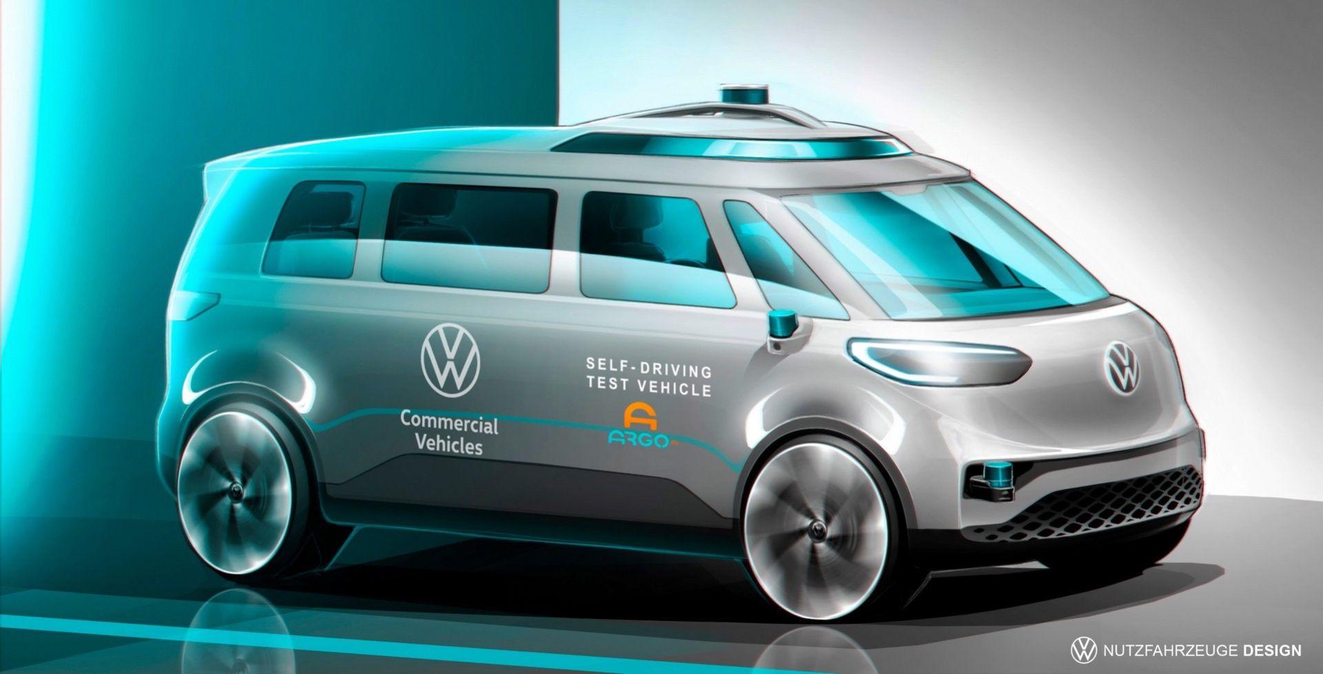 Självkörande version av Volkswagen ID. Buzz kommer 2025