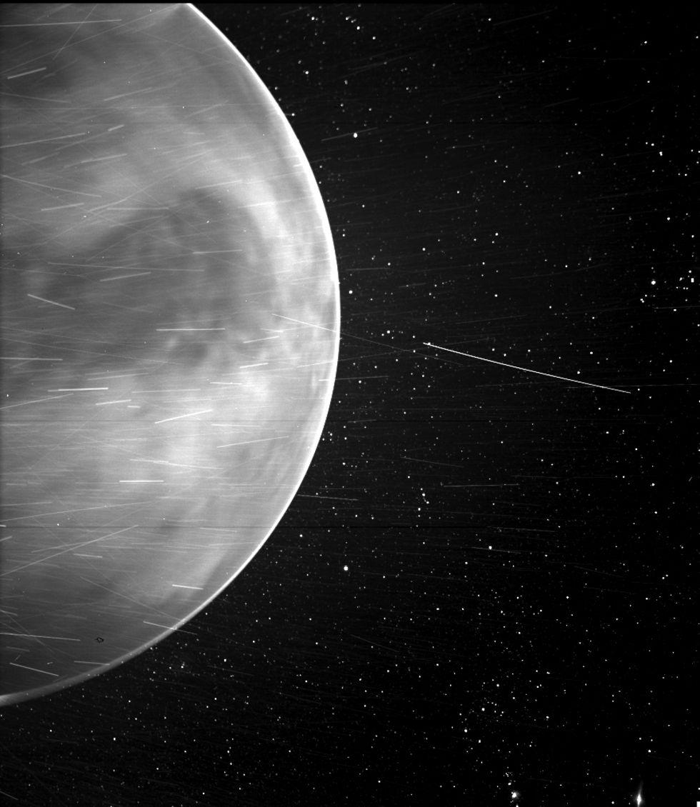 Parker Solar Probe fotar Venus